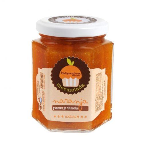 Mermelada de naranja, pasas y canela