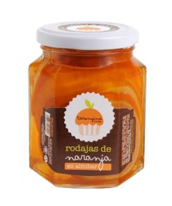 Rodajas de naranja en almíbar